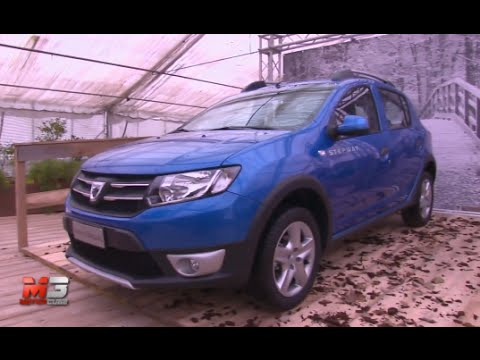 new dacia sandero stepway lodgy stepway dokker stepway 2015 first test drive youtube. Black Bedroom Furniture Sets. Home Design Ideas
