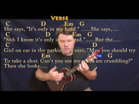 Round Here (Counting Crows) Ukulele Cover Lesson in G with Chords/Lyrics