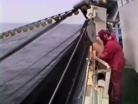 North Sea Herring Purse Seining 1990 (Full Video)
