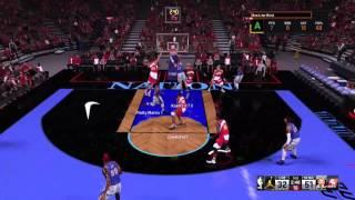 mj free throw dunk