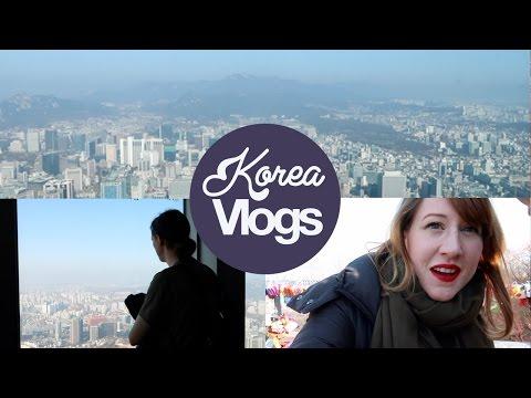 Korea Vlog 3: Namsan Mountain & Seoul North Tower