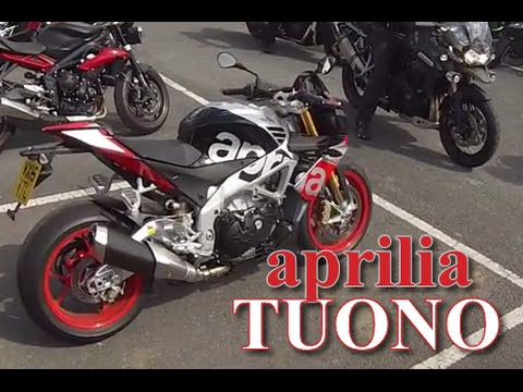 aprilia tuono v4 1100 factory first ride review and. Black Bedroom Furniture Sets. Home Design Ideas