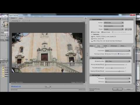 HowTo - Export Mpeg2 files in Adobe Premiere Pro CS3