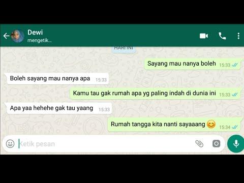 Gombalan Whatsapp Paling Romantis Bikin Baper Part 3 By Hdp
