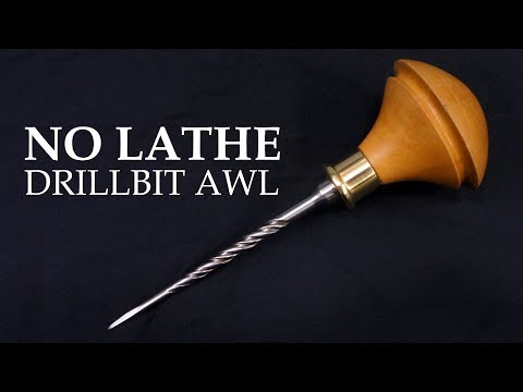 Making a Birdcage Awl from an old drill bit