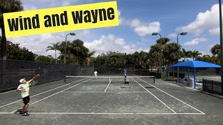 Wind and Wayne Doubles Tennis Highlights