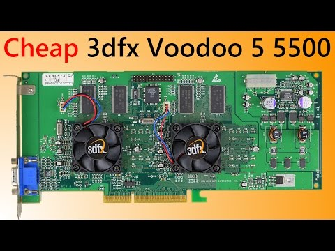 3dfx Voodoo 5 5500 Retro Gaming on a budget