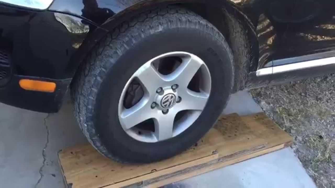 volkswagen touareg off road tyres