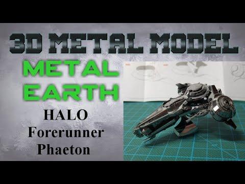 Metal Earth Build - Halo Forerunner Phaeton