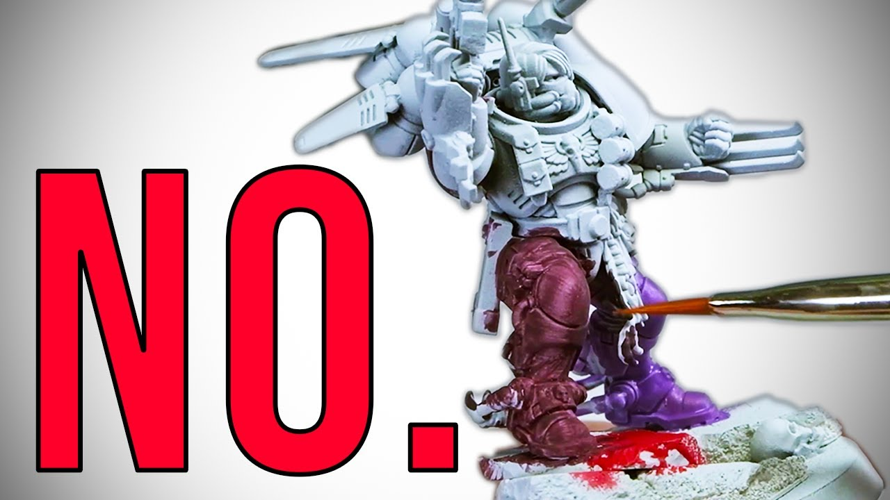Testing the CHEAPEST PAINTS on Warhammer