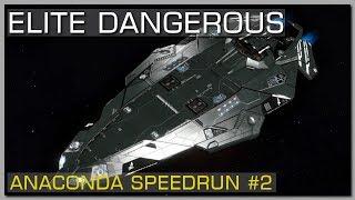ELITE DANGEROUS | World first Anaconda Speedrun in 10:28:59 - (Version 3.0.5)