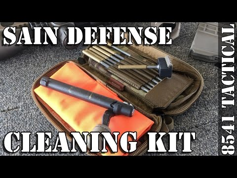 SAIN Defense Firearm Cleaning System