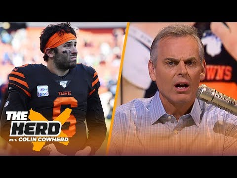 Colin tells Baker to hold himself accountable, Mahomes 'needs to play' if he can | NFL | THE HERD