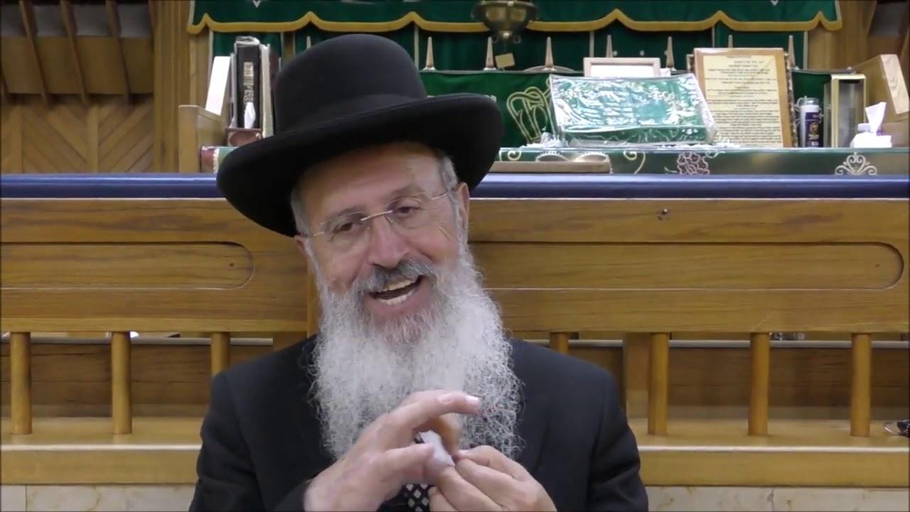 """הרב אברהם יוסף שליט""""א - דיני והלכות עשרת ימי תשובה - כי תבא תשע""""ט"""