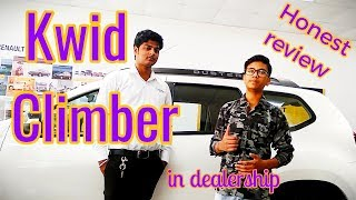Kwid Climber || over view by Abhishek ranjan beyond infinity in Renault dealership