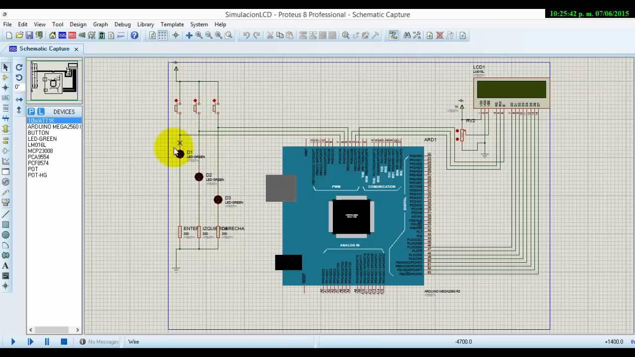 Arduino Mega 2560 Library For Proteus