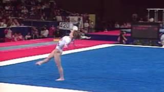 Kerri Strug - Floor Exercise - 1996 McDonald's American Cup