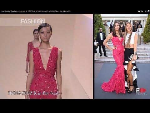 "Irina Shayk & Alessandra Ambrosio at ""FESTIVAL DE CANNES 2013"" AMFAR Celebrities Style Day 8 thumbnail"