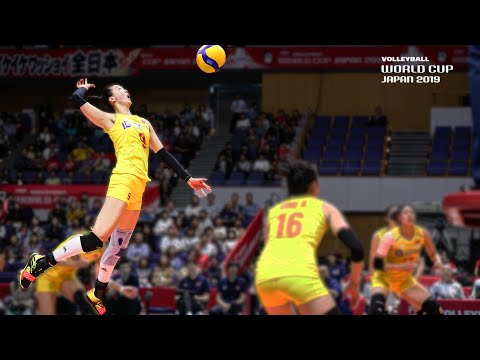 Top 10 POWERFUL Spikes of the Women's Volleyball World Cup 2019