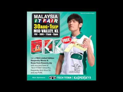 Malaysia IT Fair @ Kuala Lumpur Mid Valley (Radio commercial in English)