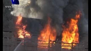 ROMA: INCENDIO STAZIONE TIBURTINA