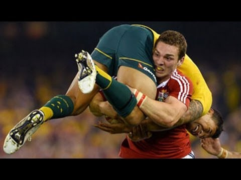 George North|TOP5 Tries|The Welsh Powerhouse
