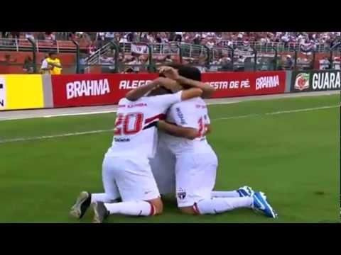 São Paulo 3 X 1 Corinthians - Brasileirão 2012 - 02/12/12 - GOLS