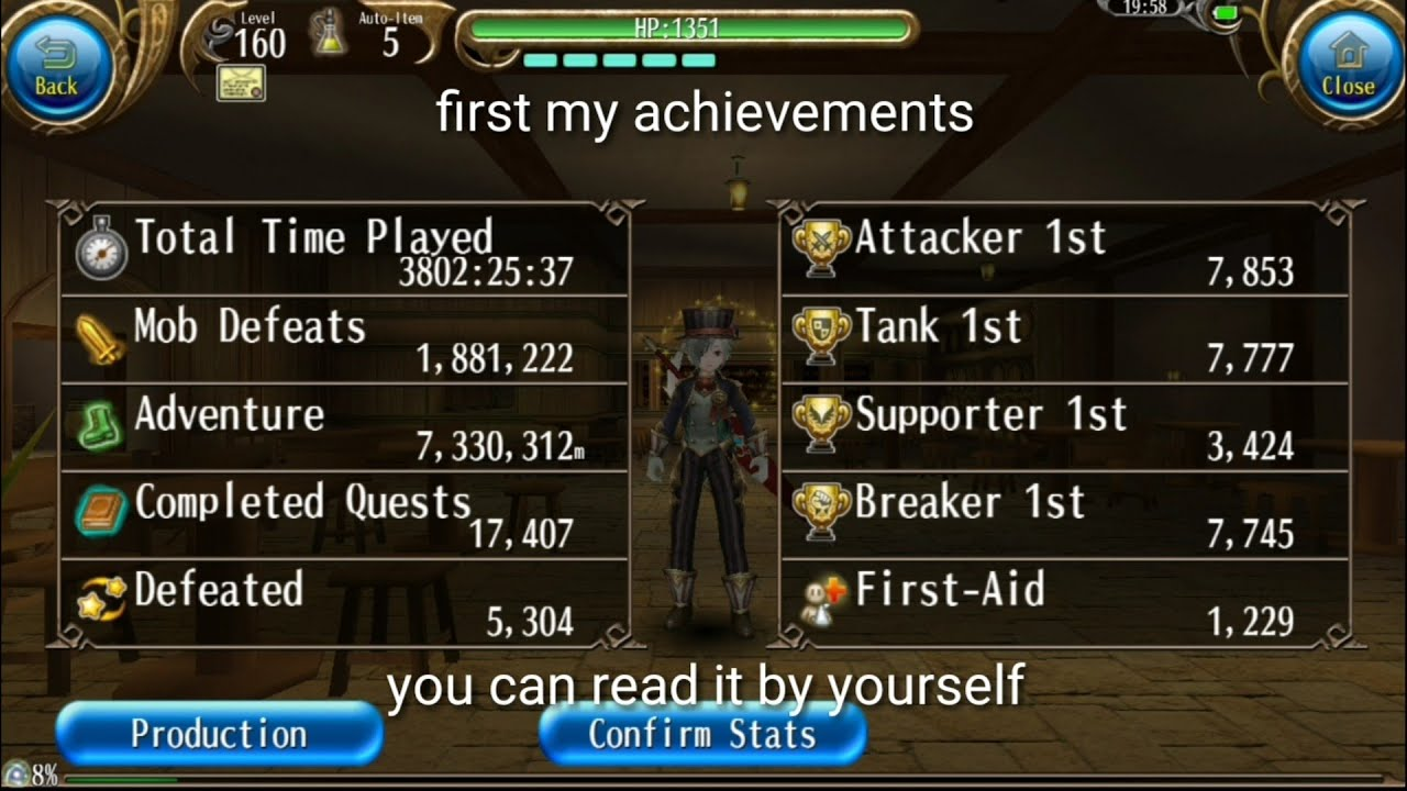All About My Toram Character Arewzo: Emblem, Achievements, Character Slot  and Others! - Toram Online