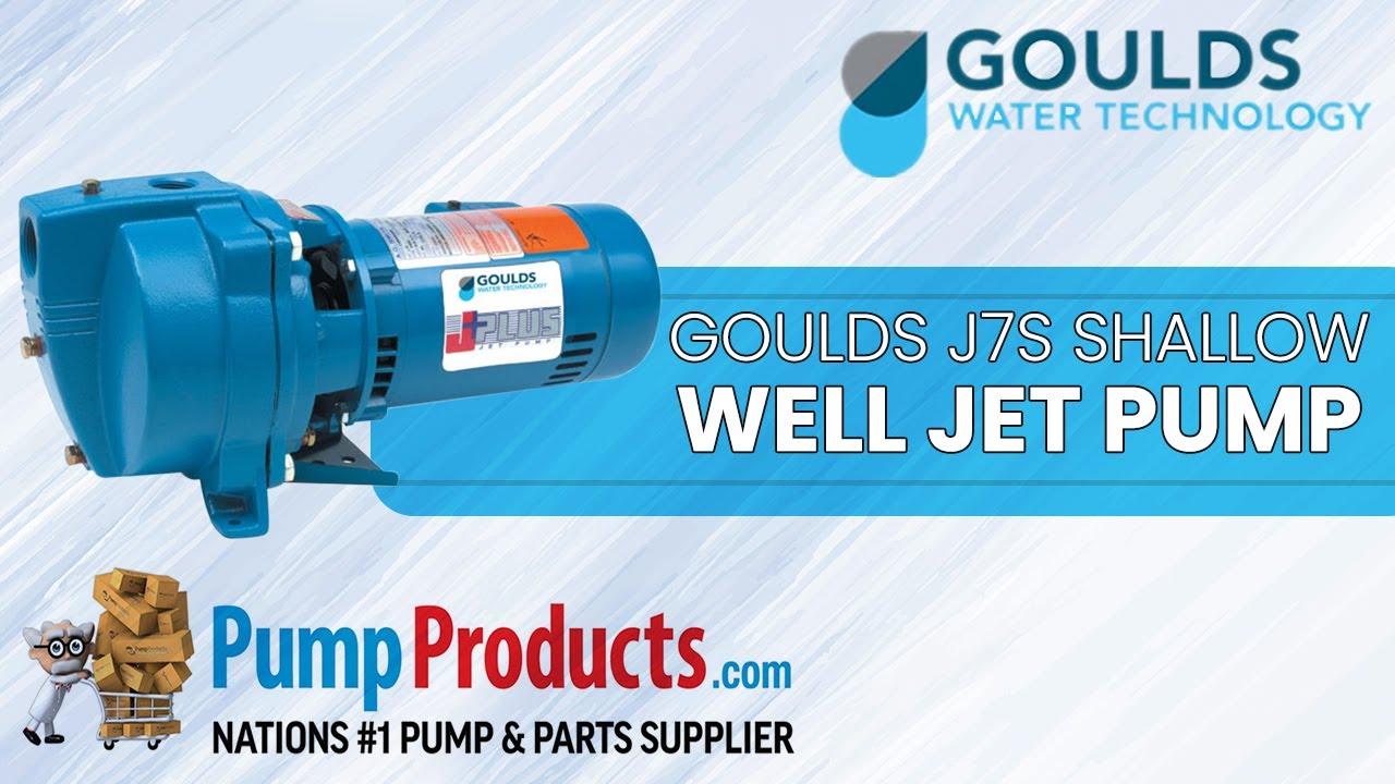 Goulds J7s Shallow Well Jet Pump