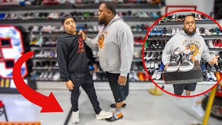 Stepping On Hypebeasts Shoes &…
