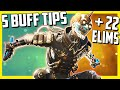 5 Must Know Tips For The New Octane Buff & A 22 Elim Octane Game! - Apex Legends