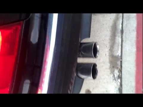 BMW 740il Custom Exhaust