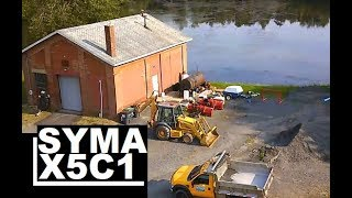 Syma X5C -1 Camera Quality Testing High Flight Drone Review