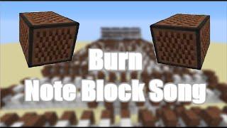Minecraft Note Block Song : Burn - Ellie Goulding