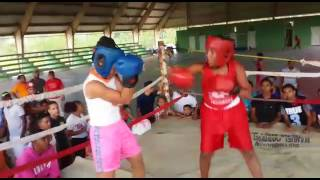 Pelea de Boxeo completa  2017 Dominicano mujeres