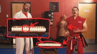 Master Ken Debunks the Candle Punch