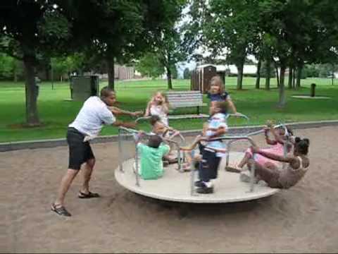 playground merry go round in minnesota