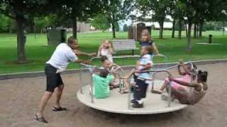 Playground Merry Go Round In Minnesota