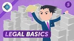 Legal Basics and Business Entity Formation: Crash Course Business Entrepreneurship #5