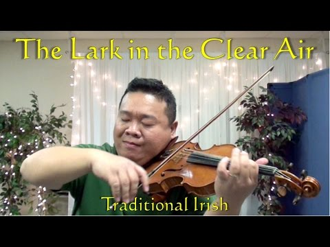 The Lark in the Clear Air | Traditional Irish | Kevin Yen, Violin