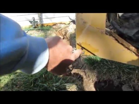 Installing Water Lines with a Subsoiler