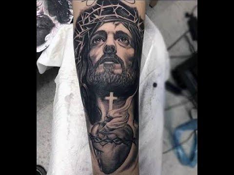 Tatuagem De Jesus Cristo Coroa de Espinhos