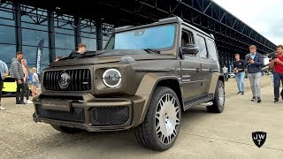 This 2019 Mercedes-AMG G63 BRABUS G700 Widestar is A G Wagon on STEROIDS!