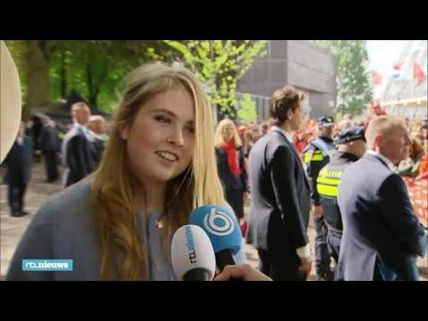Prinses Amalia: 'Ik wil geen showversie van mezelf laten zien' - RTL NIEUWS