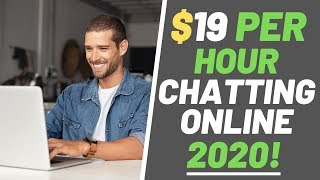 Make money chatting online | up to $19 per hour 2020