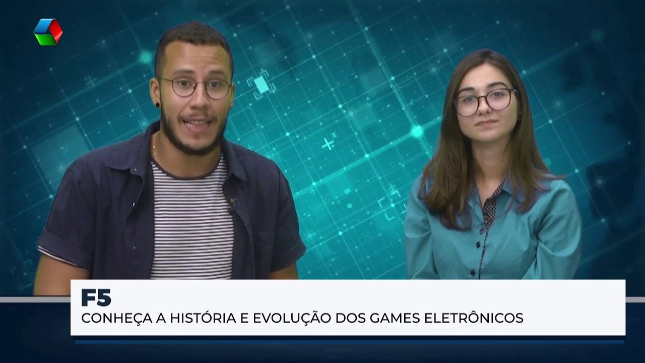 Conheça a história e evolução dos games eletrônicos