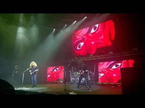 megadeth - the threat is real live in hk 2017