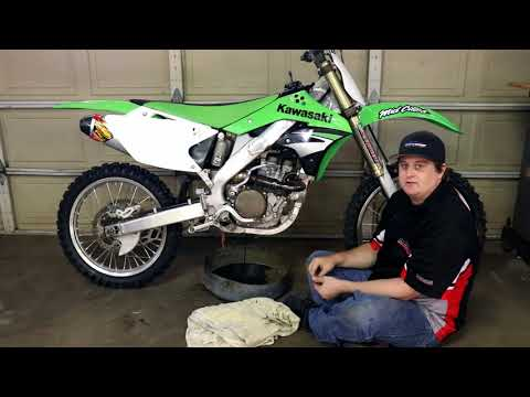 How to CHANGE Oil In Your Dirt Bike Transmission Tutorial Step By Step