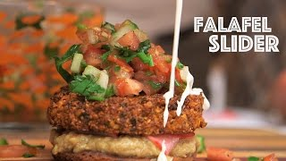 The Falafel Slider - Brothers Green: Eats! On Mtv