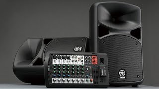 Yamaha Stagepas | A Quick Overview